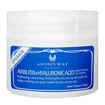 Arbutin + Hyaluronic Acid Brightening Jelly Mask 250ml