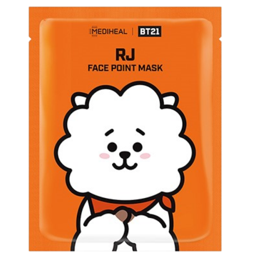 BTS BT21 Face Point Mask RJ (4 sheets)