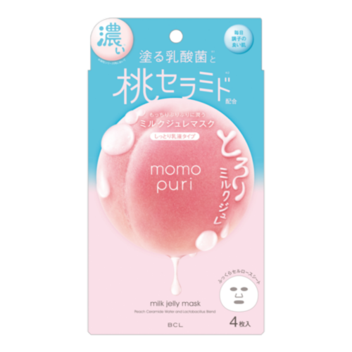 Moisture Milk Jelly Mask 4pcs