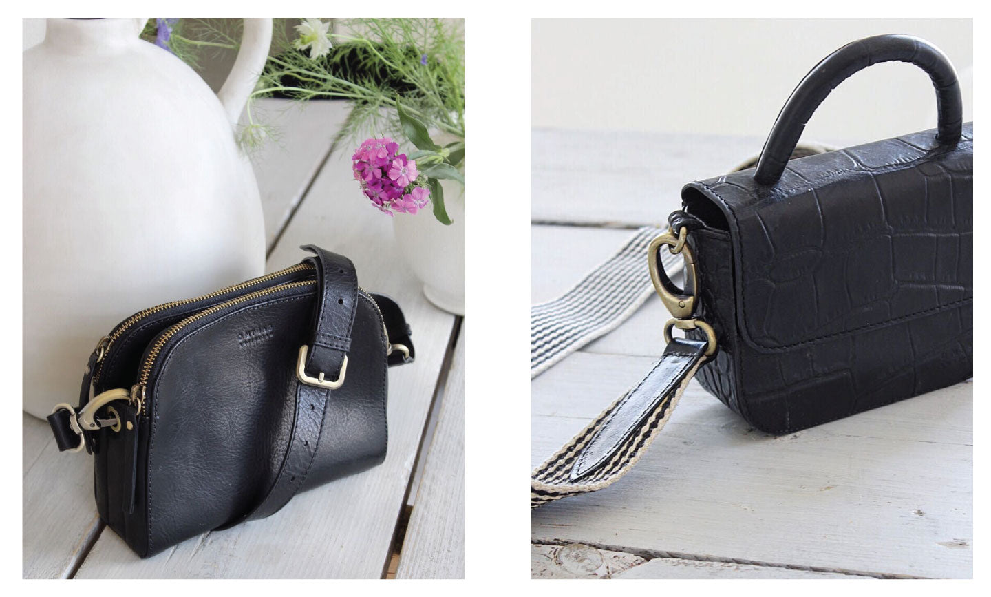Play with proportion: Emily (left) & Nano Bag (right)