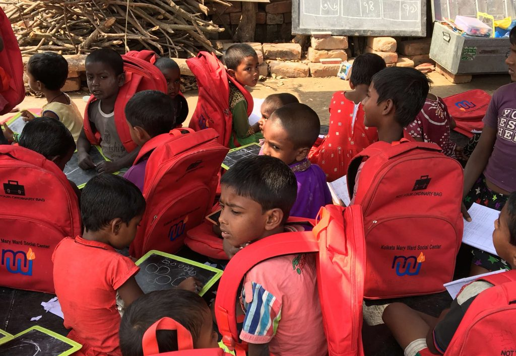We were very excited to be able to donate 3000 backpacks to The Brickfield Schools