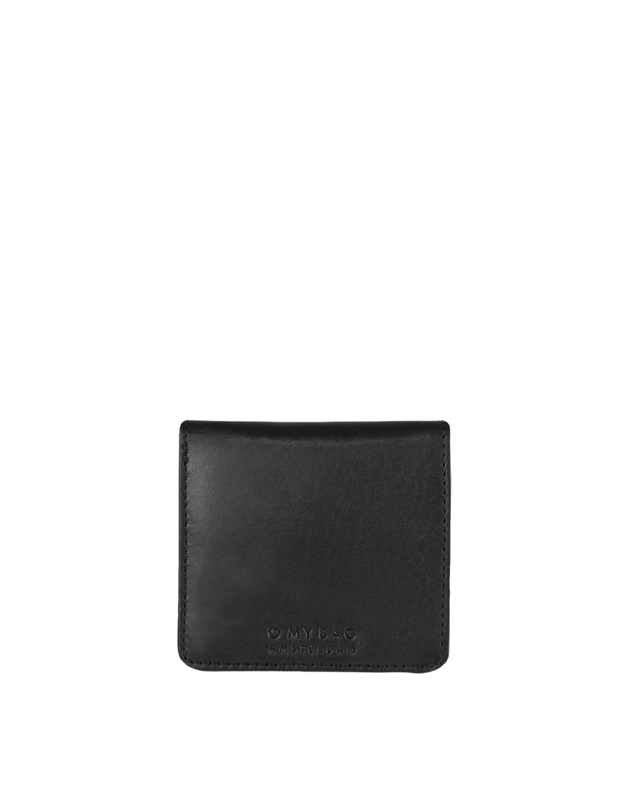 Recommended: The Alex Fold-Over Wallet - Black Classic Leather