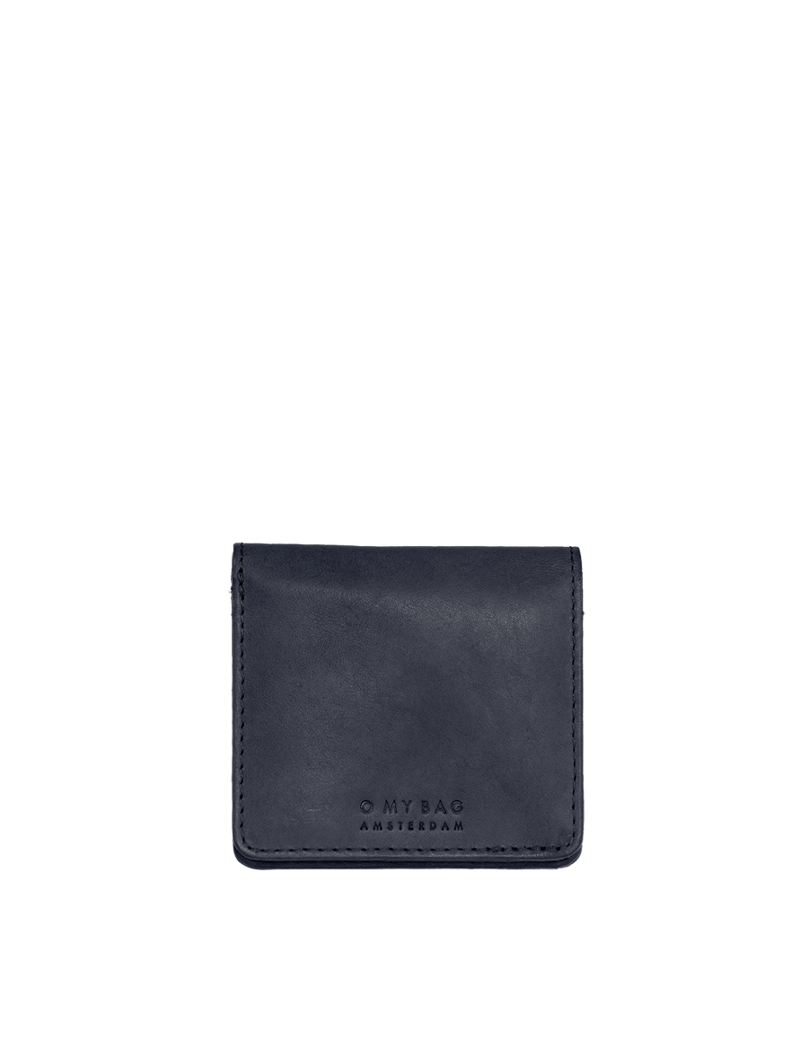 Recommended: The Alex Fold-Over Wallet - Navy Classic Leather