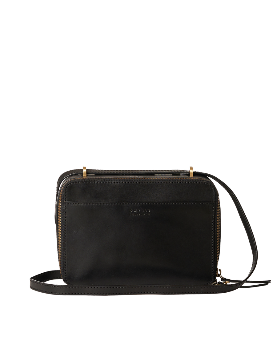 Recommended: Bee's Box Bag - Black Classic Leather