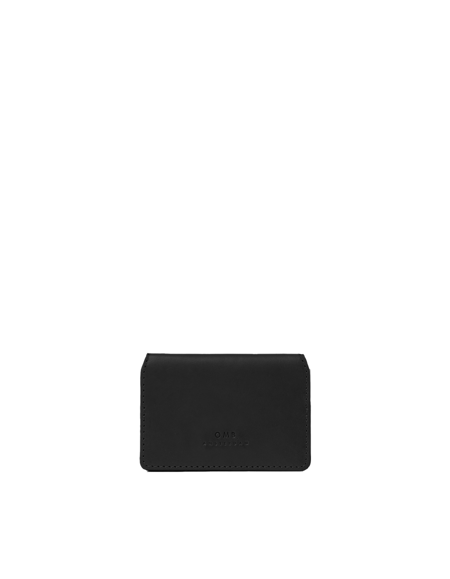 Recommended: Cassie's Cardcase - Black Classic Leather