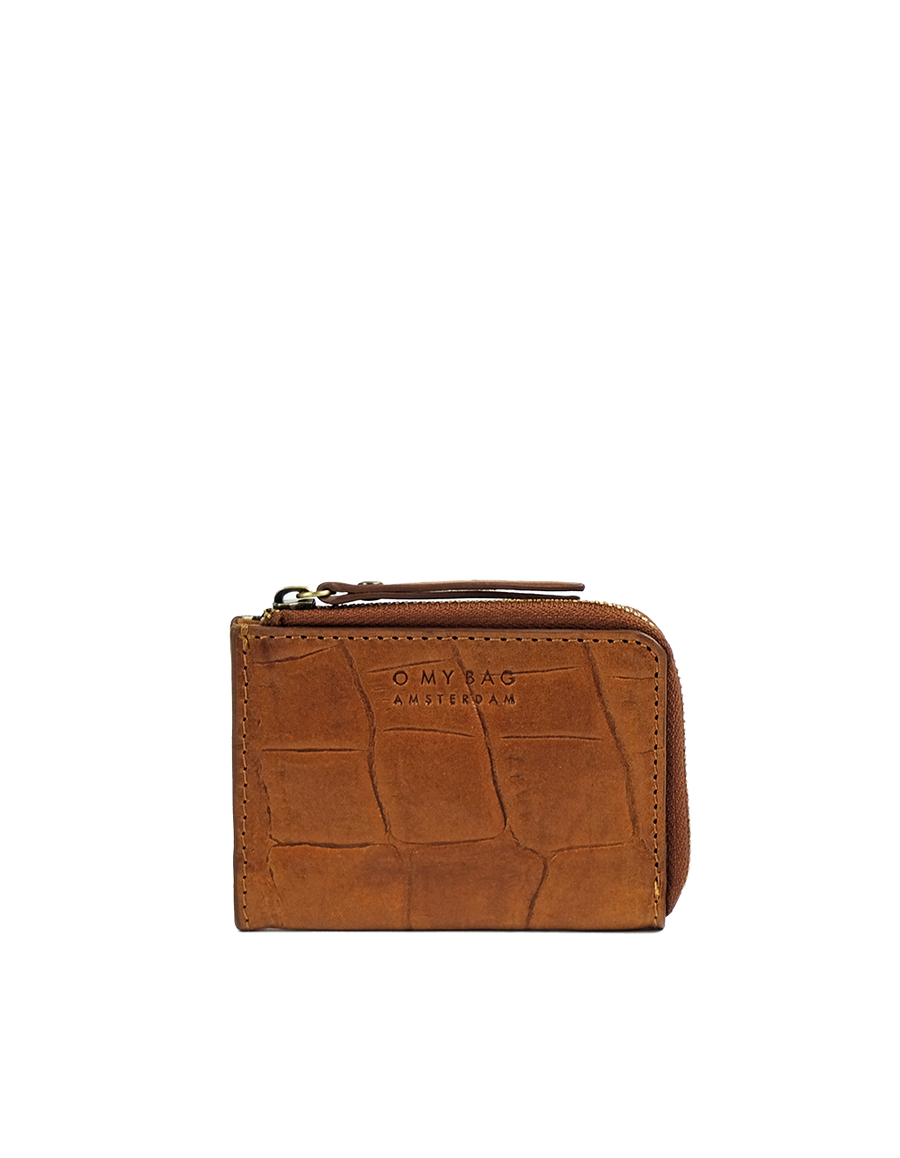 Recommended: Coco Coin Purse - Cognac Classic Croco Leather