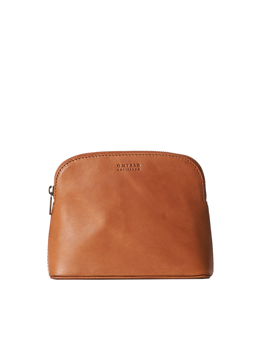 Recommended: Cosmetic Bag - Cognac Classic Leather