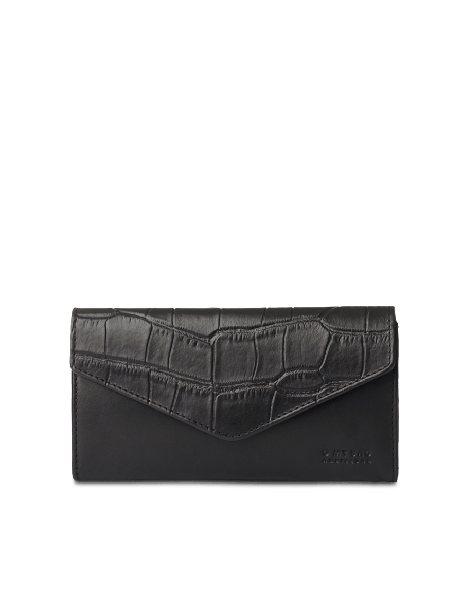 Recommended: Envelope Pixie - Black Croco Classic Leather