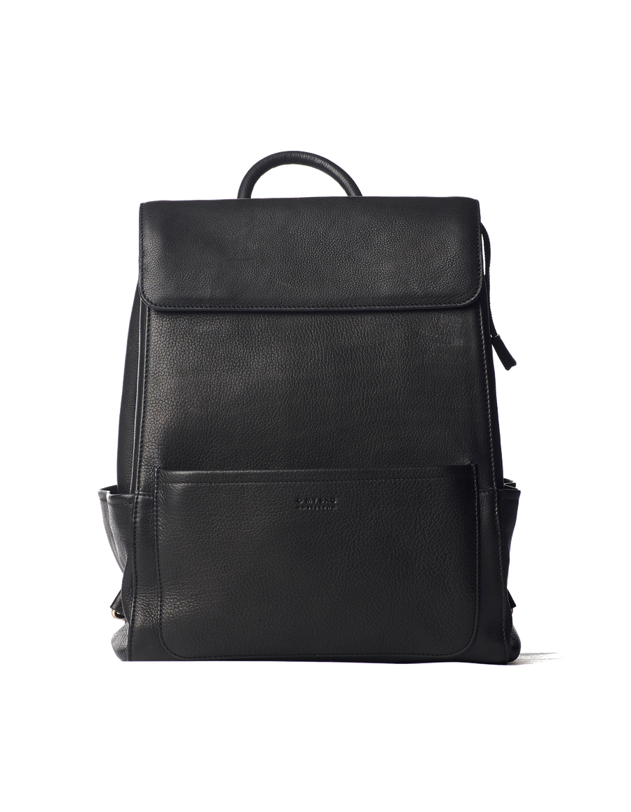 Recommended: Jean Backpack - Black Soft Grain Leather