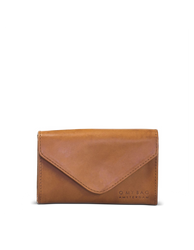 Camel classic leather purse