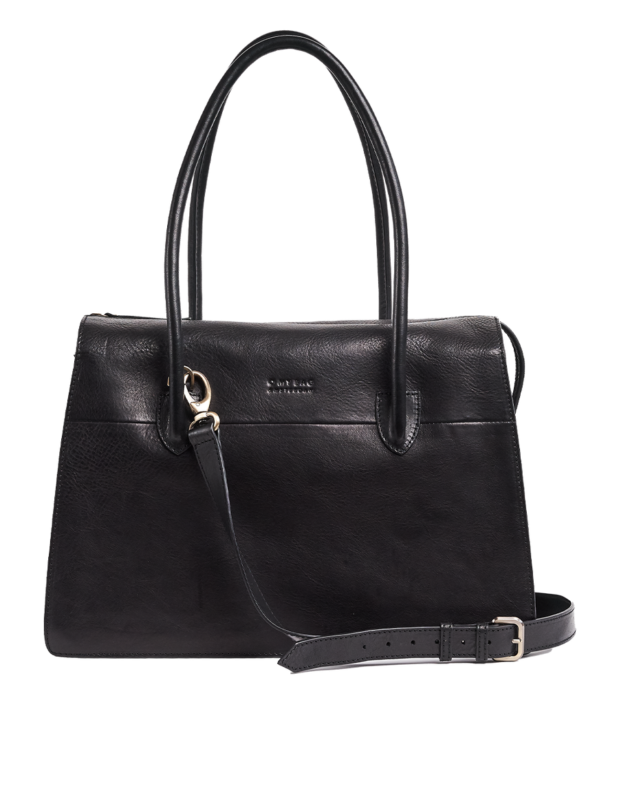 Recommended: Kate - Black Stromboli Leather