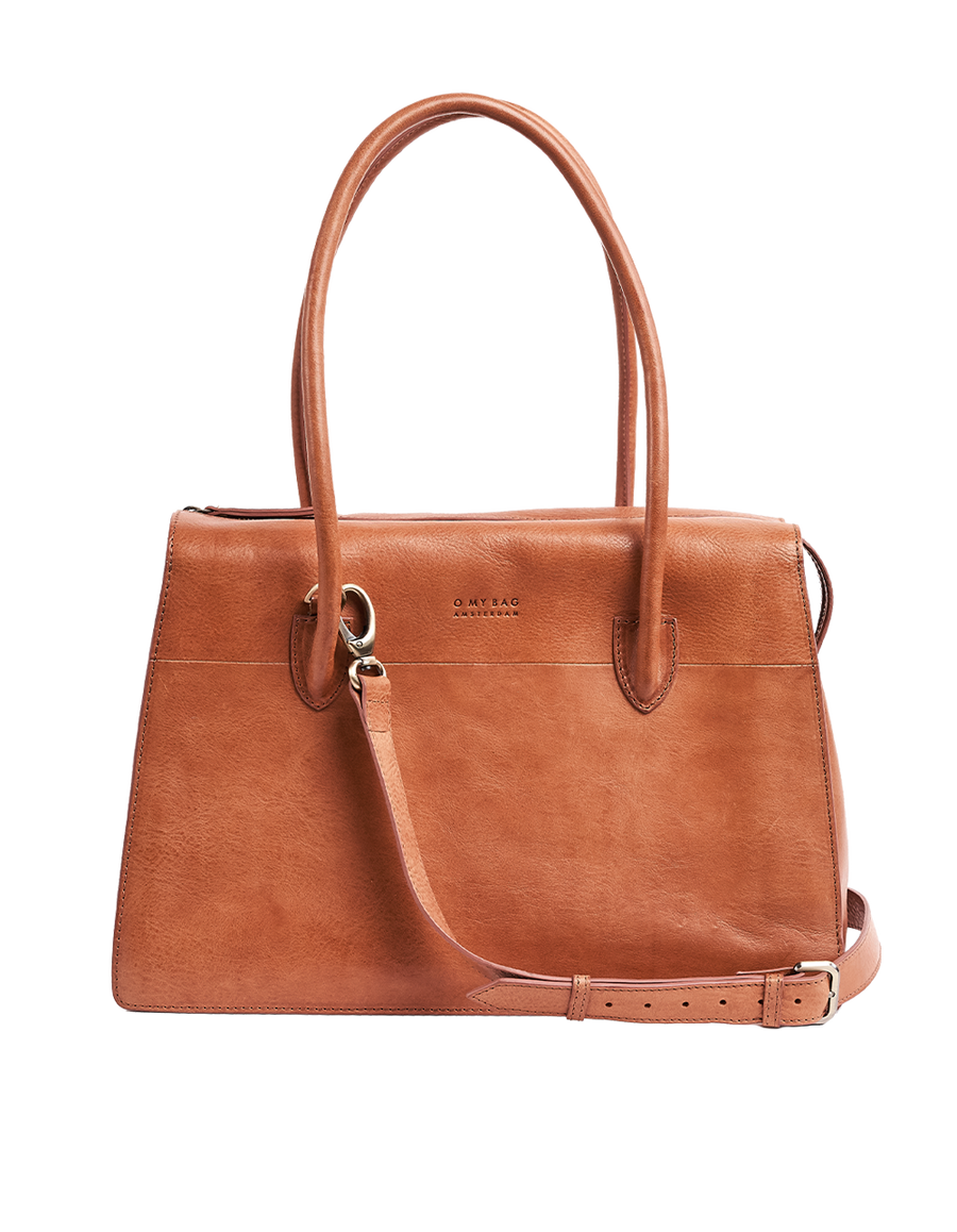 Recommended: Kate - Cognac Stromboli Leather