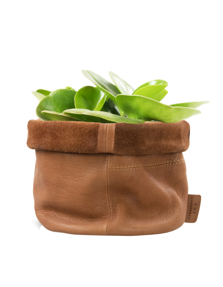 Recommended: Leather Pot - Wild Oak Soft Grain Leather