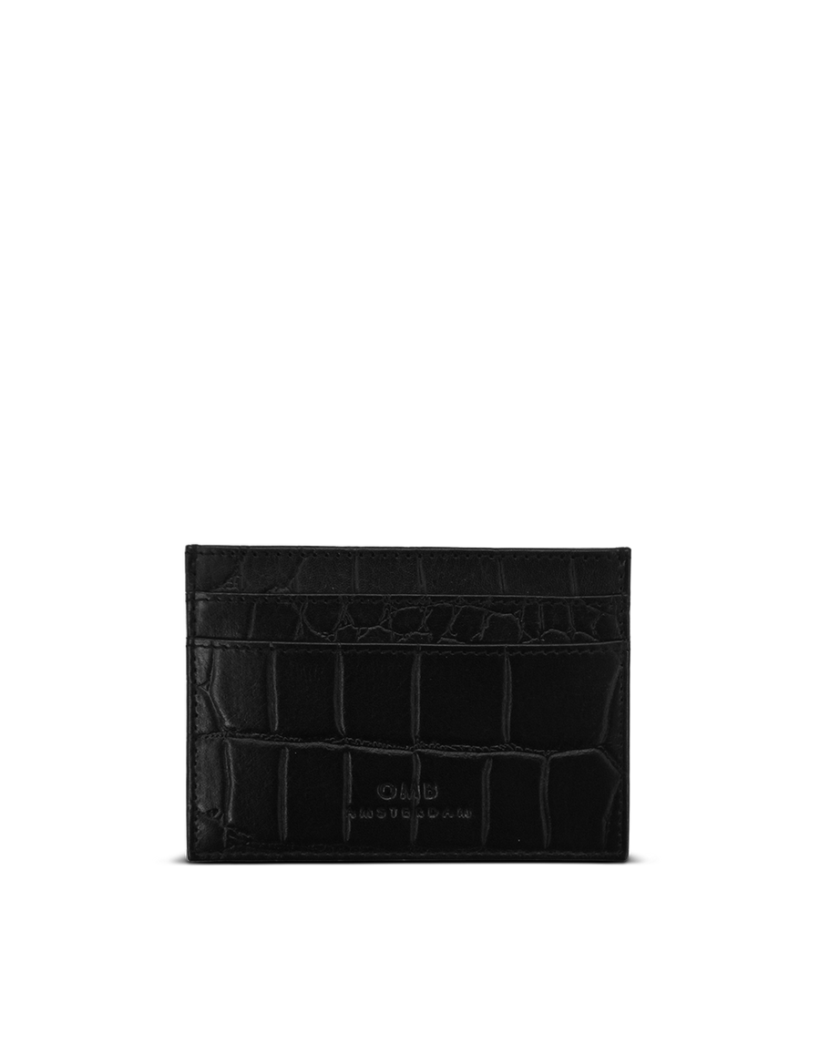 Recommended: Mark's Cardcase - Black Classic Croco Leather