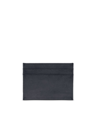 Marks Cardcase Black Classic Leather. Square leather wallet, card case for bank cards.  Back product image.