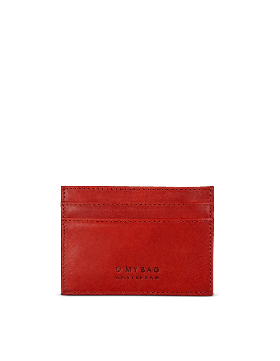 Recommended: Mark's Cardcase - Red Classic Leather