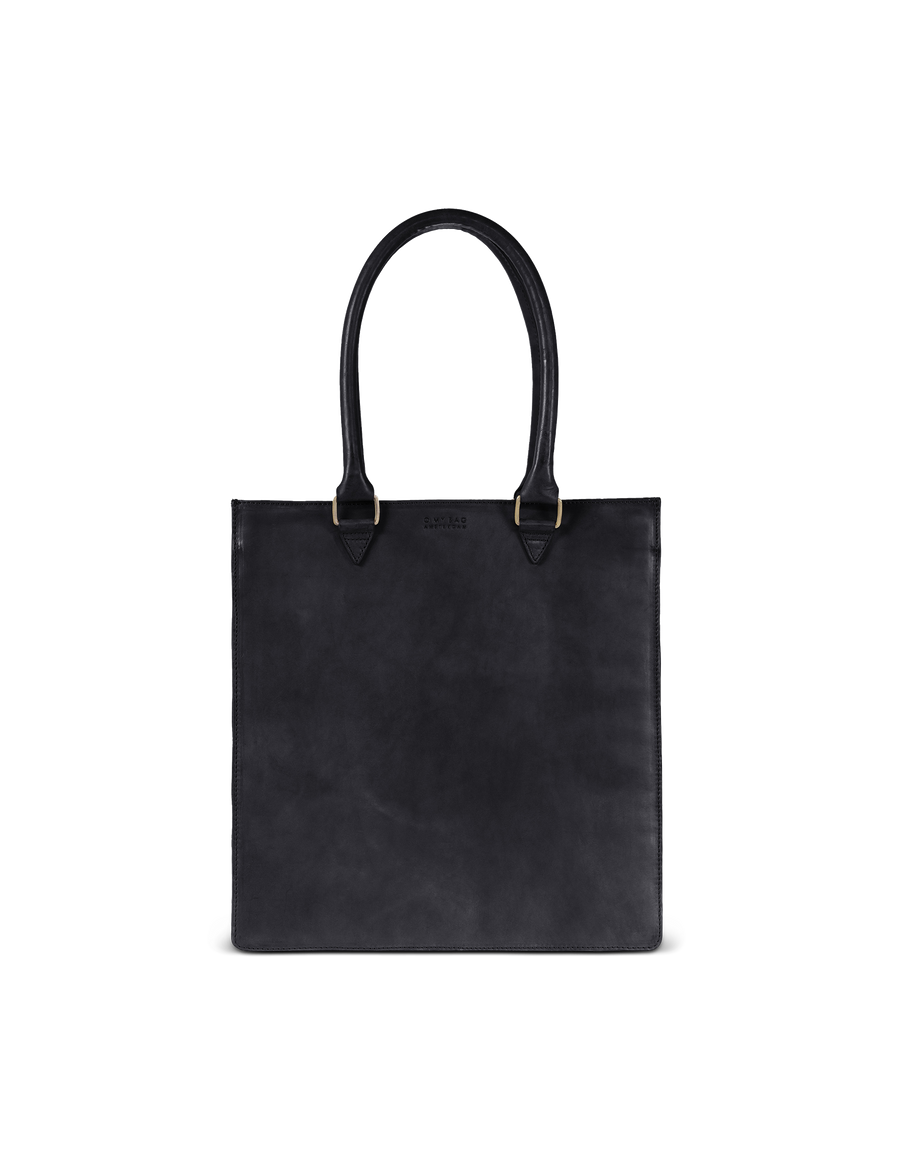 Recommended: Mila - Long Handle - Black Classic Leather