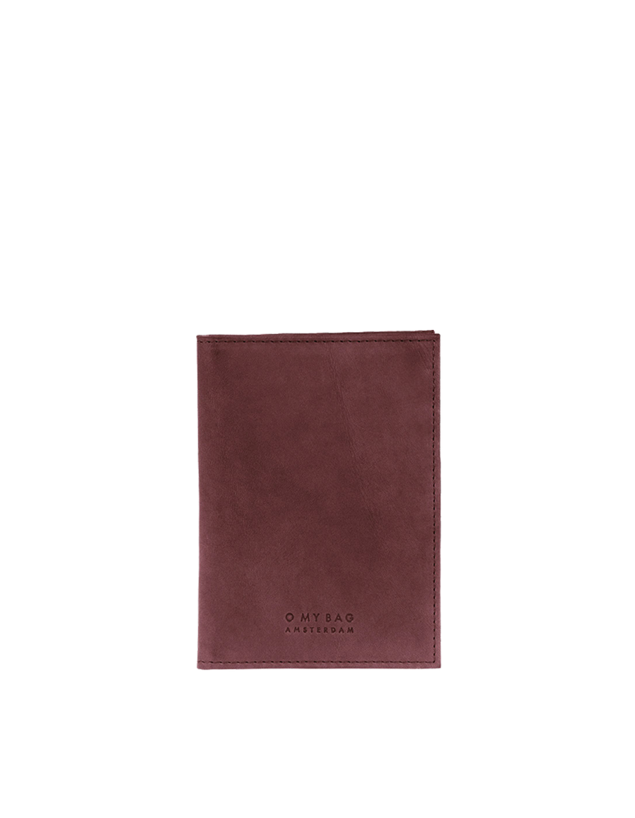 Recommended: Passport Holder - Brandy Classic Leather