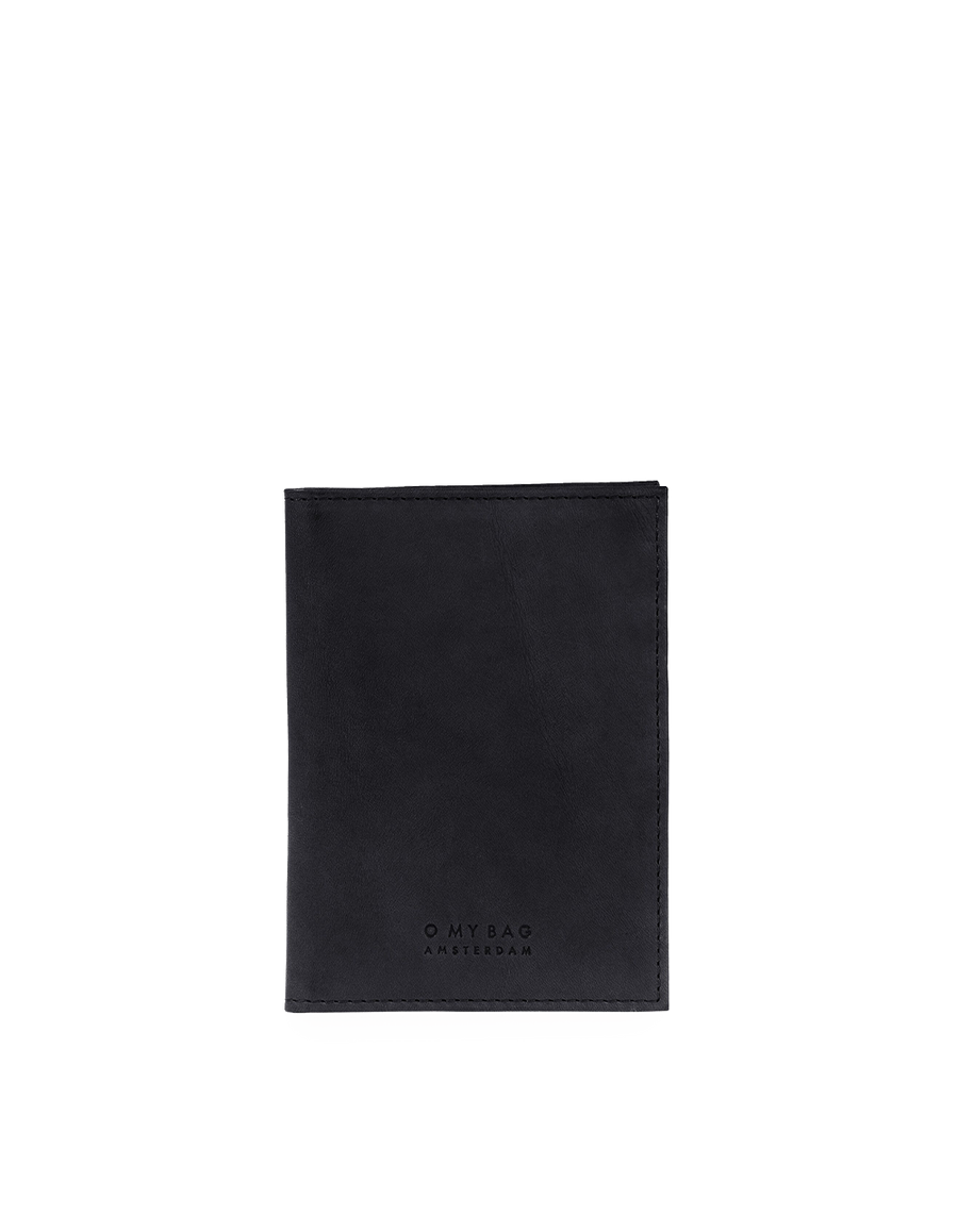 Recommended: Passport Holder - Black Classic Leather