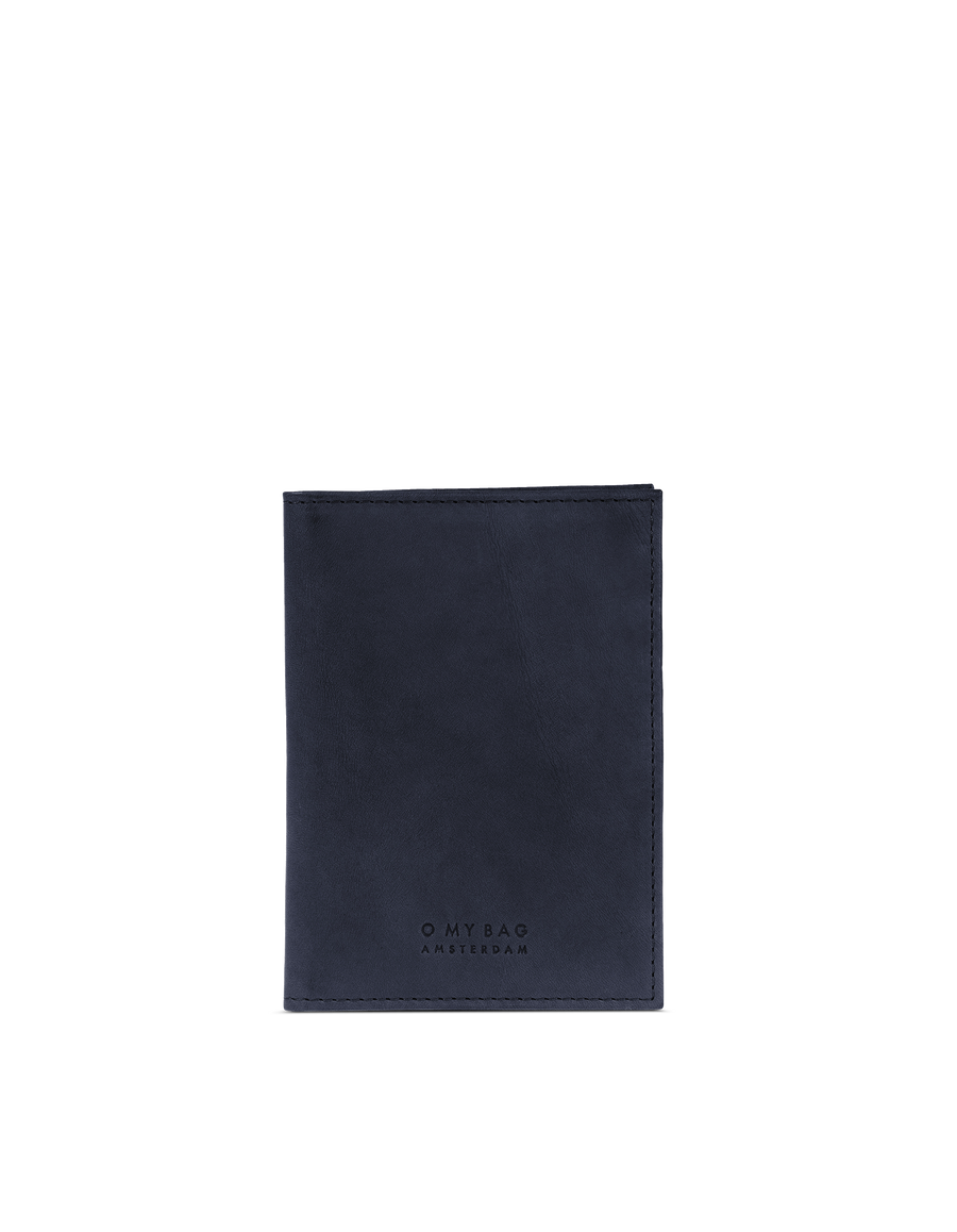 Recommended: Passport Holder - Navy Classic Leather