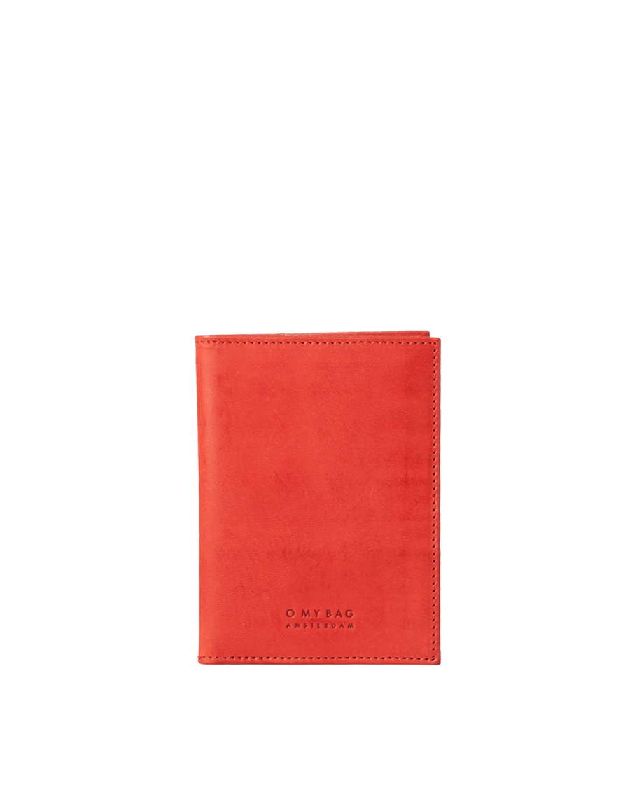 Recommended: Passport Holder - Red Classic Leather
