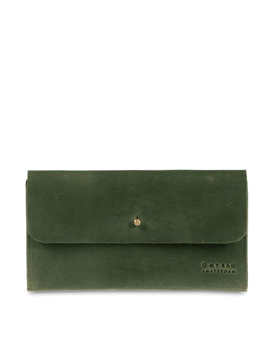 Recommended: Pixie's Pouch - Green Hunter Leather