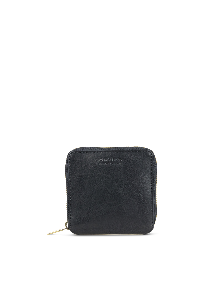 Recommended: Sonny Square Wallet - Black Stromboli Leather