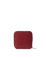 Sonny Square Wallet Ruby Classic Leather