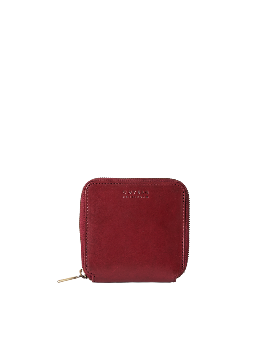 Recommended: Sonny Square Wallet - Ruby Classic Leather