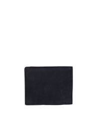 Back of Tobi's Wallet Black Hunter Leather