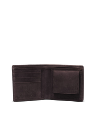 Tobi's Wallet Dark Brown Hunter Leather