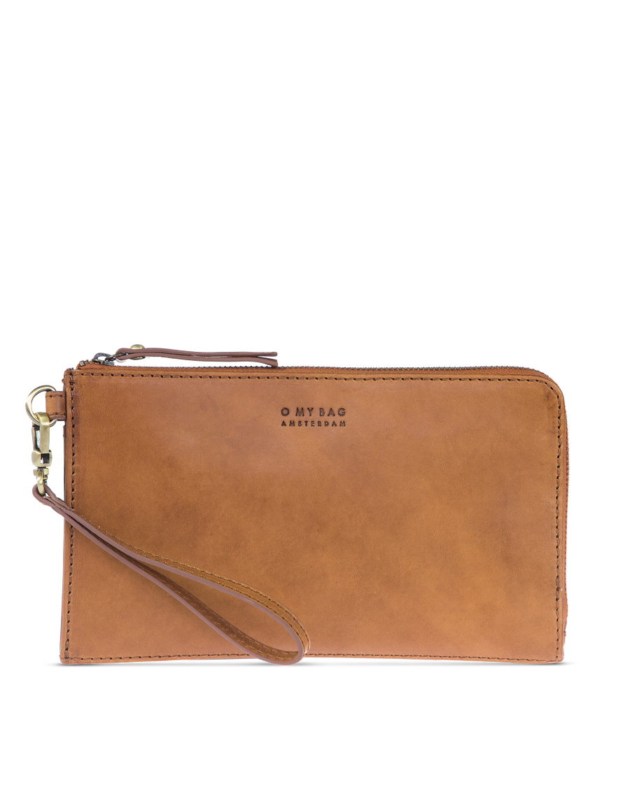Recommended: Travel Pouch - Cognac Classic Leather