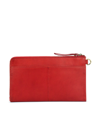 Travel Pouch - Red Classic Leather
