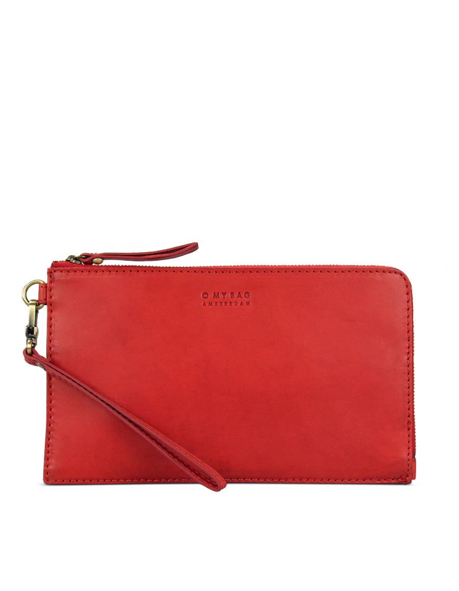 Recommended: Travel Pouch - Red Classic Leather