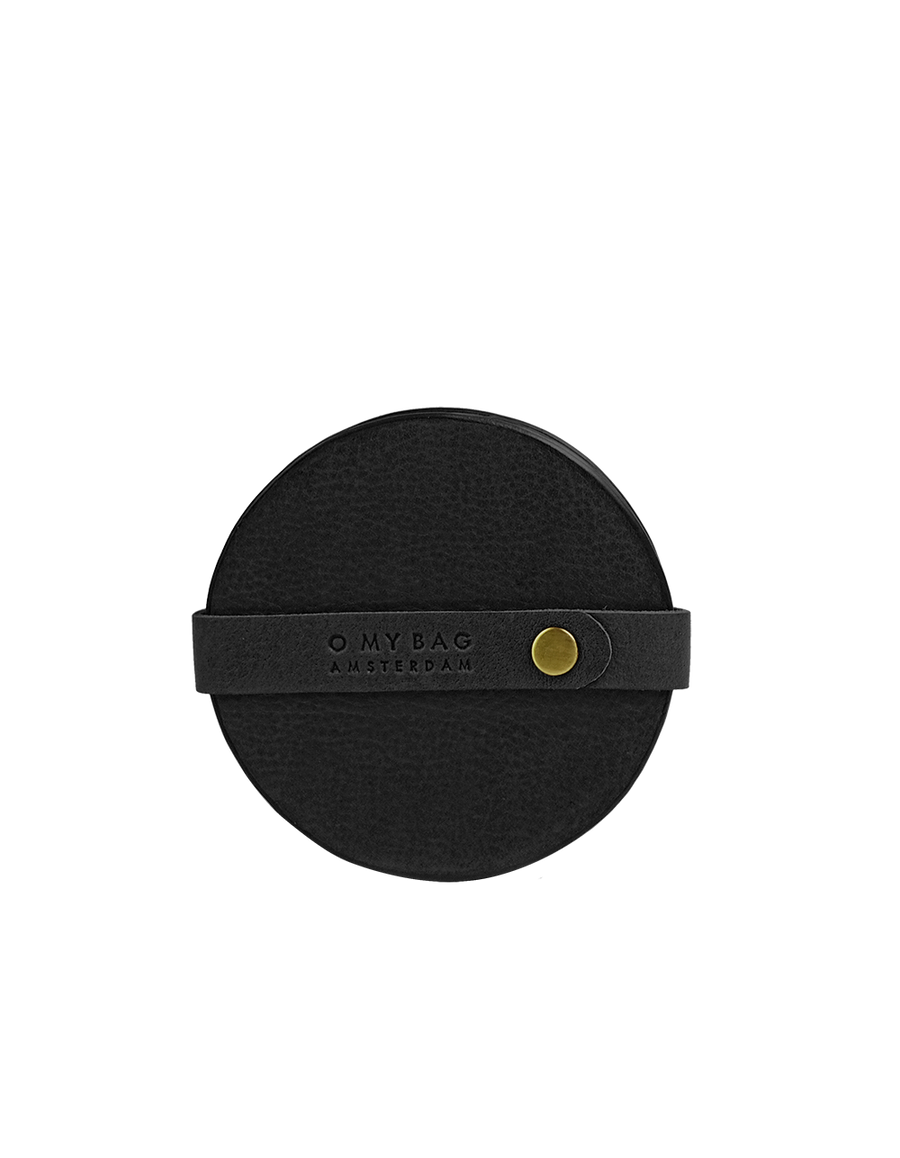 Recommended: Coasters - Black Soft Grain Leather