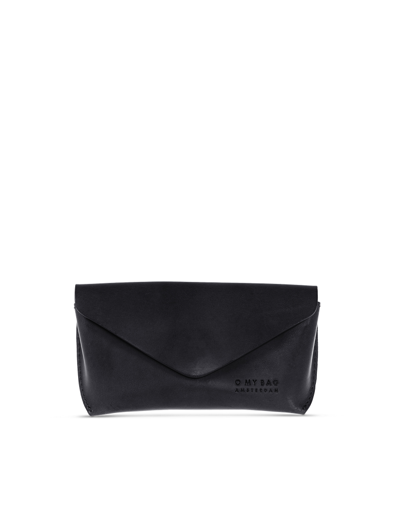 Spectacle Case Black Classic Leather