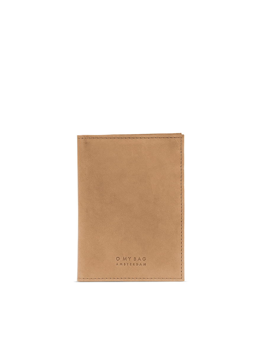 Recommended: Passport Holder - Camel Hunter Leather