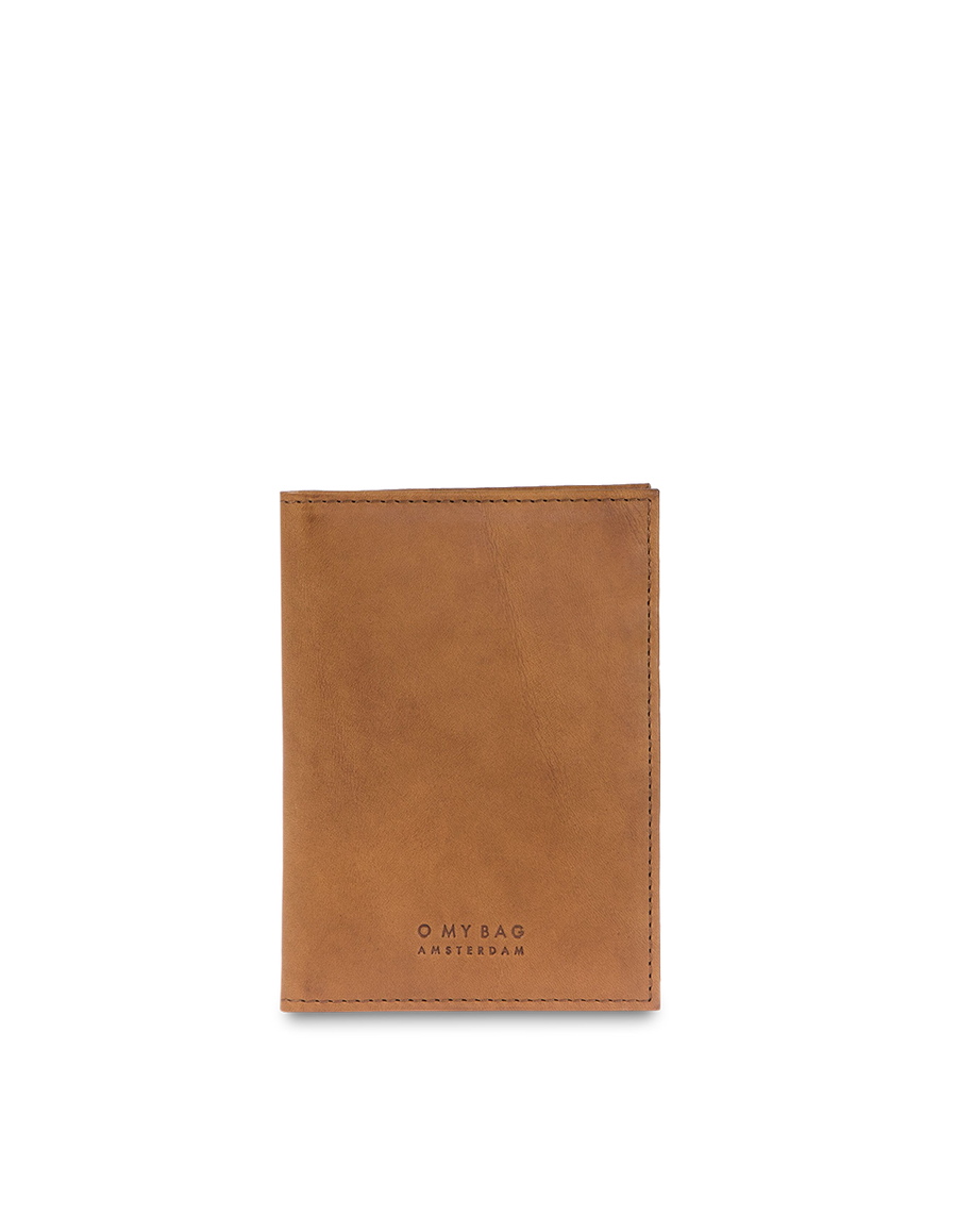 Recommended: Passport Holder - Cognac Classic Leather