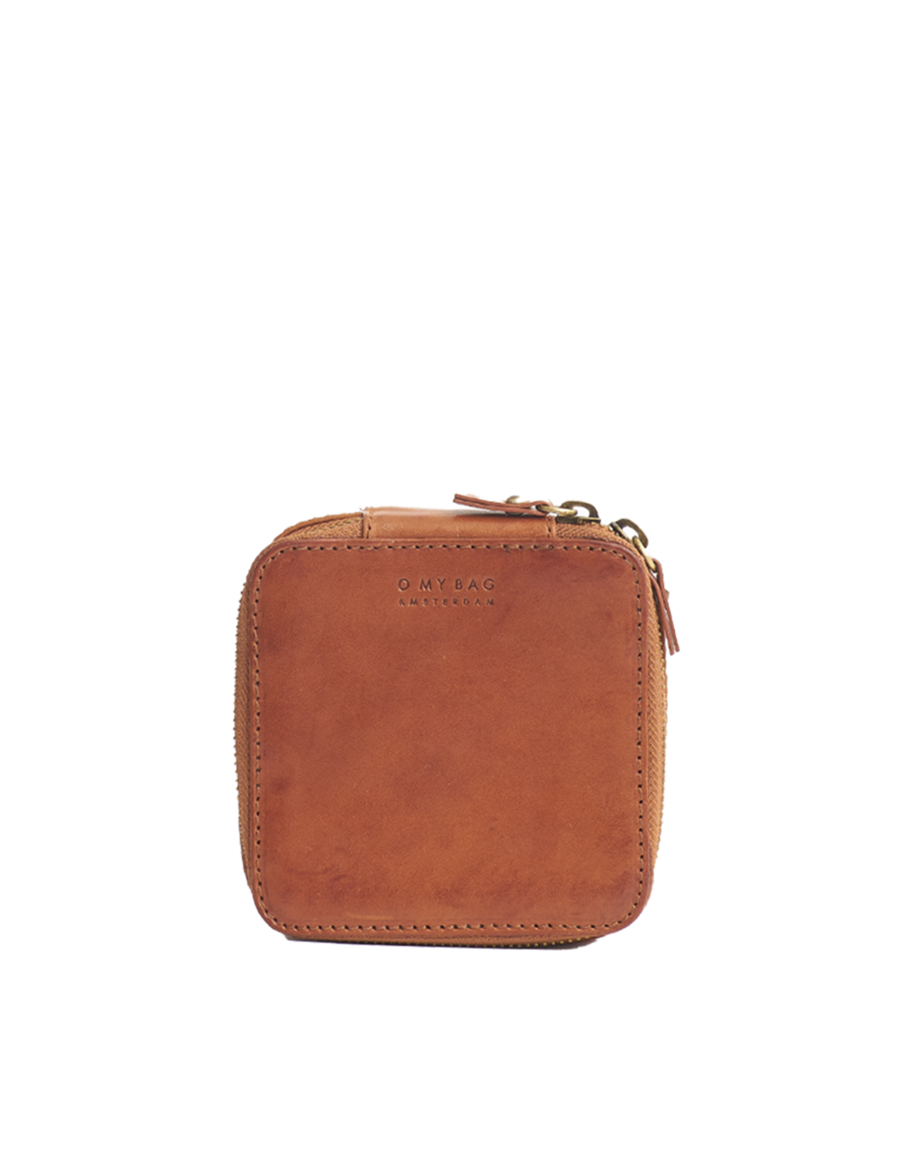 Recommended: Jewelry Box - Cognac Stromboli Leather