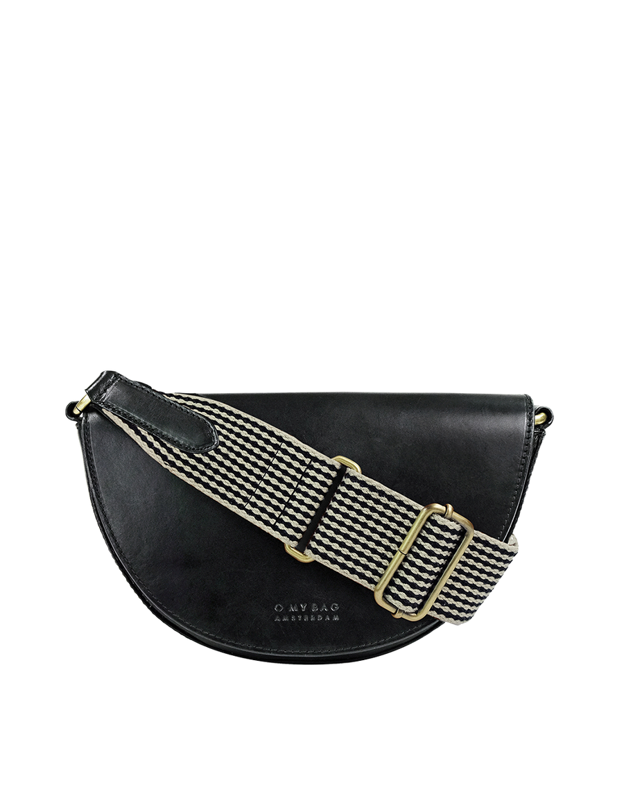 Recommended: Laura Bag - Black Checkered Classic Leather
