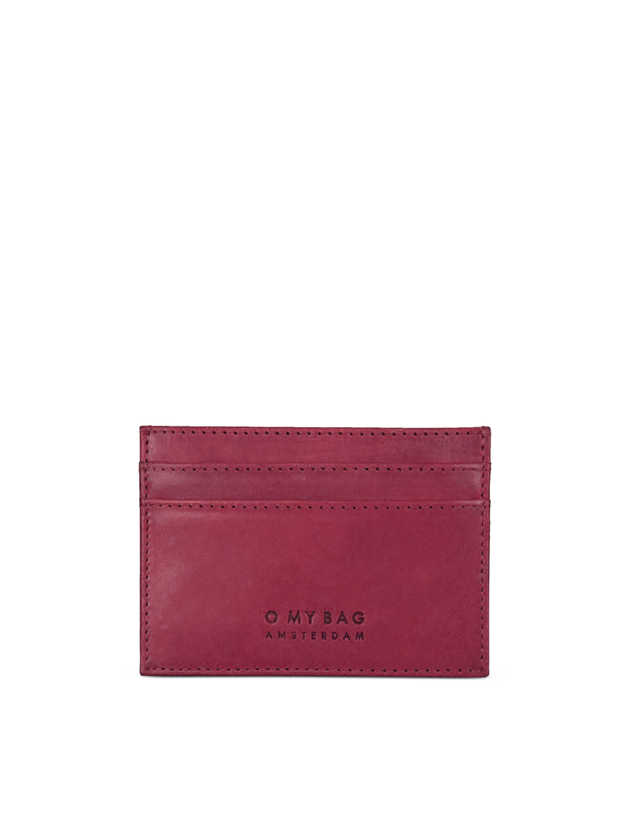 Recommended: Mark's Cardcase - Ruby Classic Leather