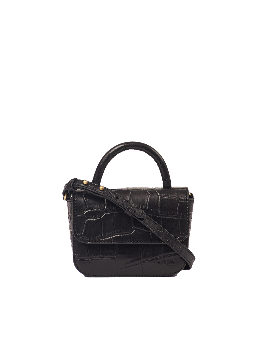 Recommended: Nano Bag - Black Classic Croco Leather