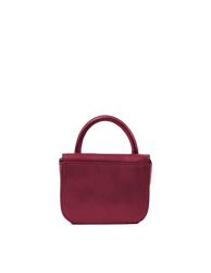 Nano Bag Ruby Classic Leather. Small clutch handbag, party bag. Back product image.