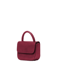 Nano Bag Ruby Classic Leather. Small clutch handbag, party bag. Side product image.