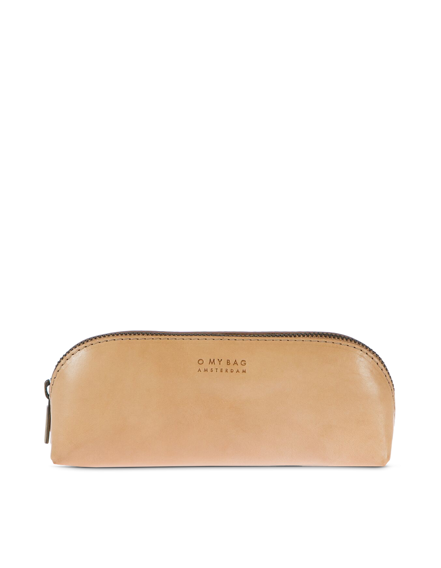 Recommended: Pencil Case Large - Natural Classic Leather