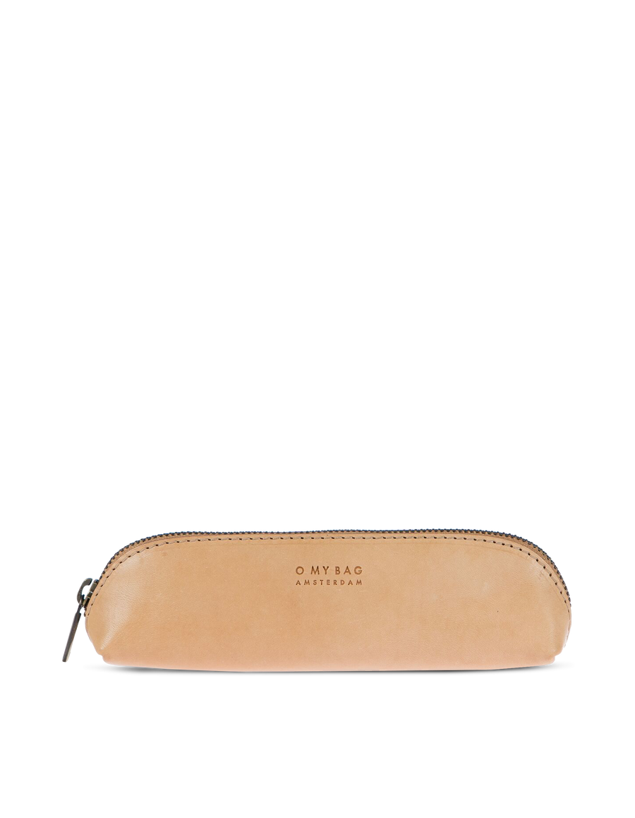 Recommended: Pencil Case Small - Natural Classic Leather