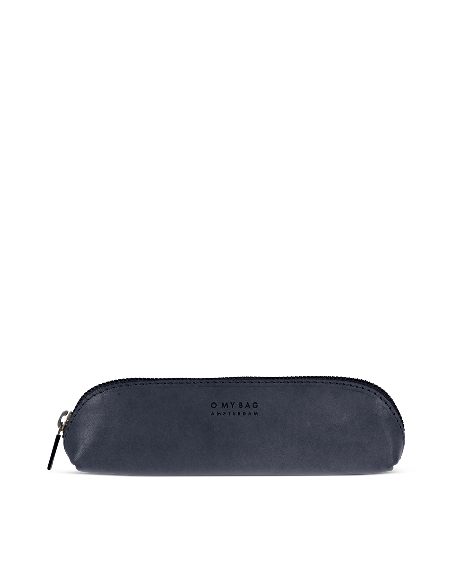 Recommended: Pencil Case Small - Navy Classic Leather