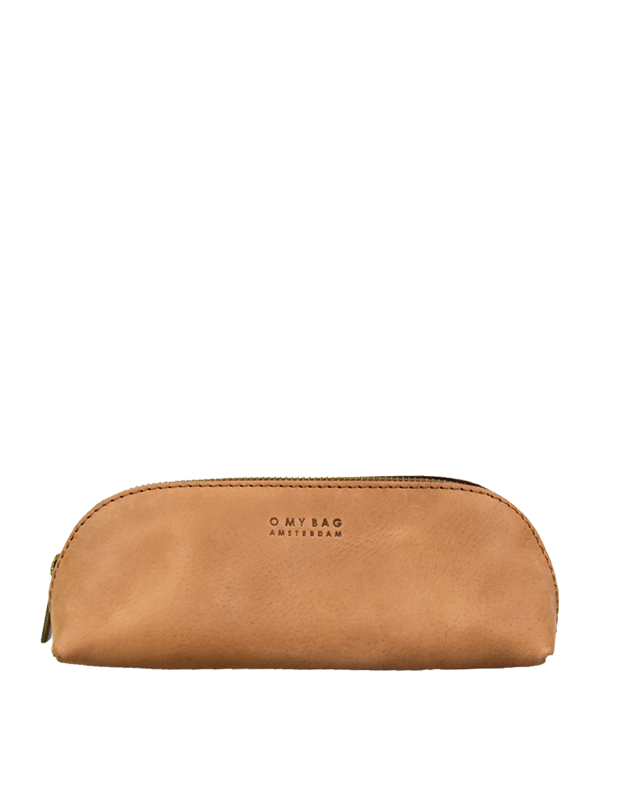 Recommended: Pencil Case Large - Camel Hunter Leather
