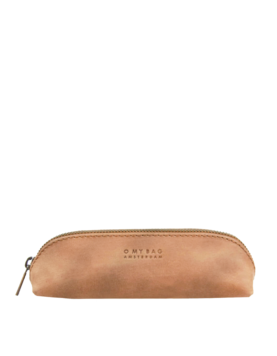 Recommended: Pencil Case Small - Camel Hunter Leather