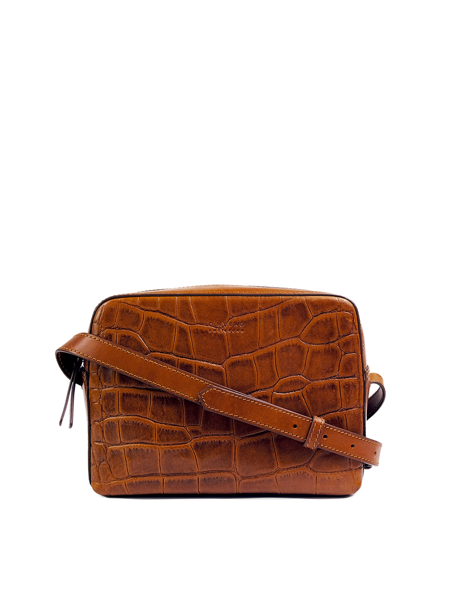 Recommended: Sue - Cognac Classic Croco Leather